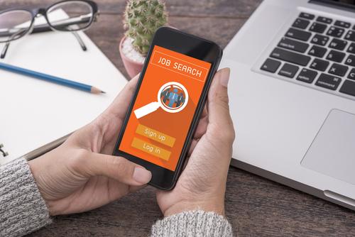 recrutement par application mobile