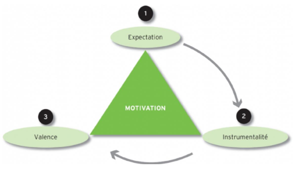 Le modèle V.I.E, Valence, Instrumentalité et Expectation